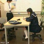 個別塾に通う制服JKが塾の先生にレイプされる個別レッスン強姦映像