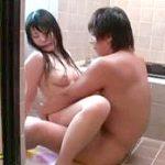 巨乳お姉ちゃんの風呂中に突撃してレイプする絶倫弟の中出し近親相姦