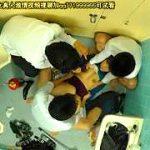 悪ガキ学生が公衆便所で一般女性を脅して輪姦するハメ撮り乱交レイプ